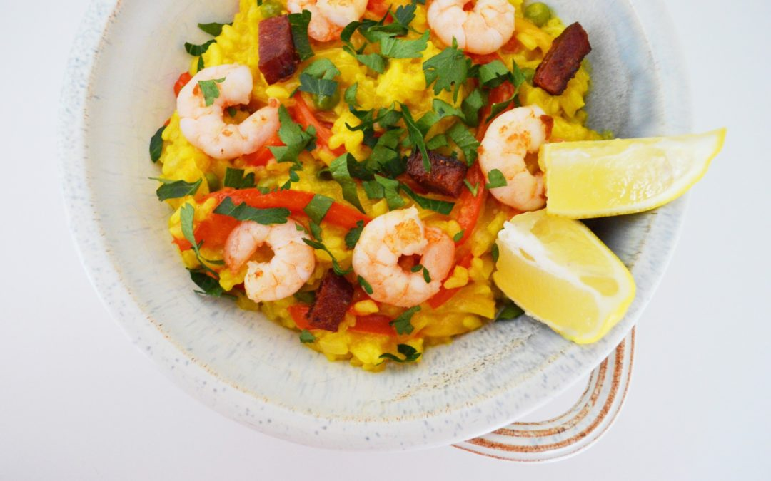 Spicy Summer Paella