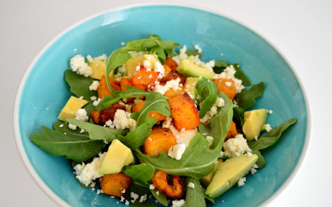Sweet Chilli Butternut Squash Salad