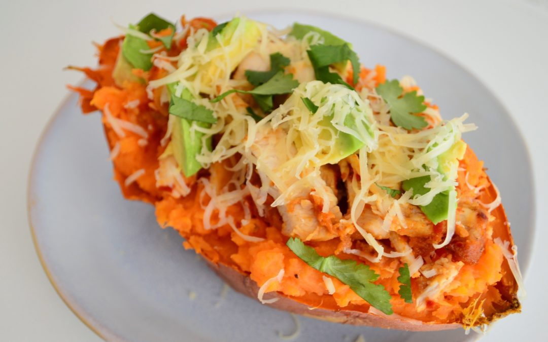 Ultimate Baked Sweet Potato